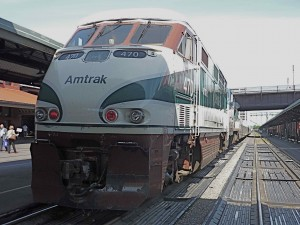 Amtrak's Talgo trains can travel well over 100 mph but are limited to 90 by US law. Modest changes to border crossing arrangements and some track upgrades could result in much higher speed travel between Cascadia cities, a stepping stone to true High Speed Rail.