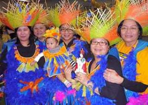 Ati Atihan Day celebrants in Vancouver Jan. 9.